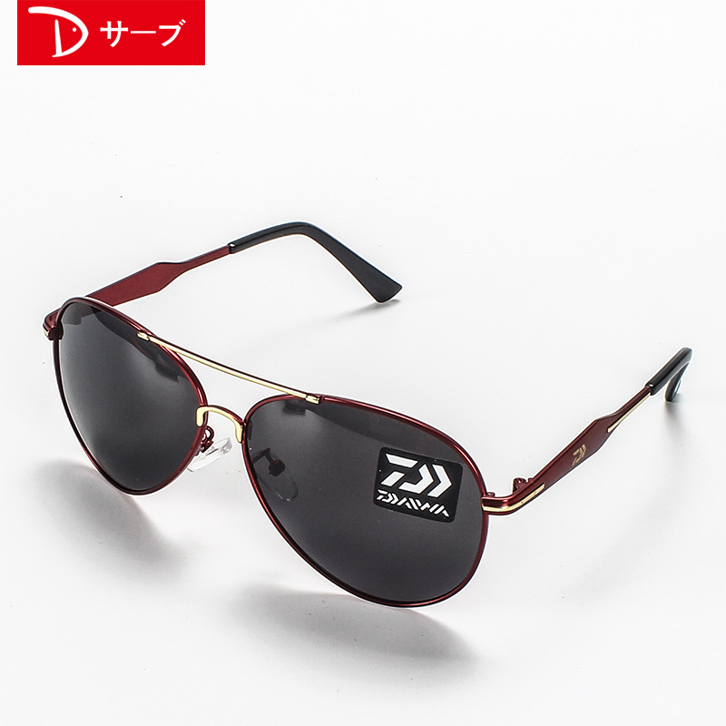 Image 3 - Outdoor fishing polarized glasses 2018 New DAIWA to see increased clarity drift dedicated high definition night vision sunglasse-in Fishing Eyewear from Sports & Entertainment
