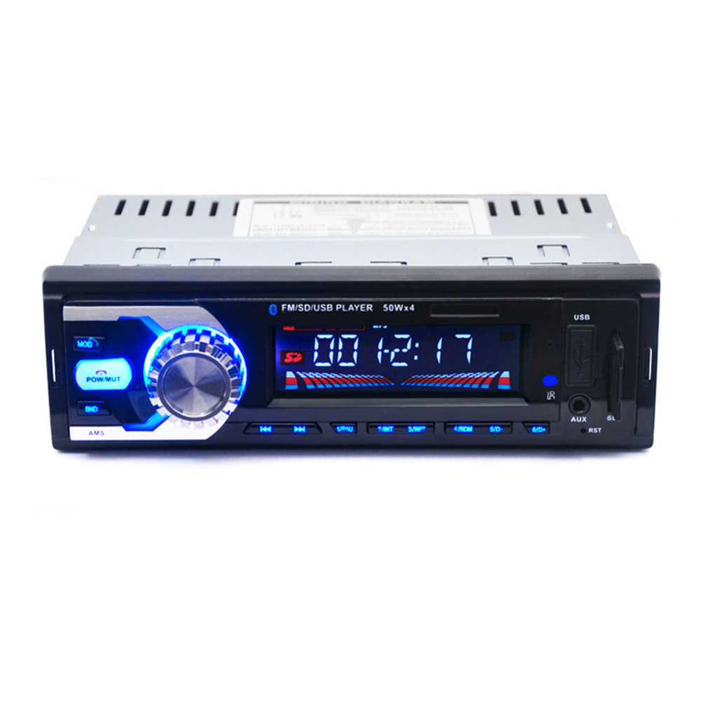 newest auto radio blueooth mp3 player car radio bluetooth mp3 fm sd 1 din remote control usb. Black Bedroom Furniture Sets. Home Design Ideas
