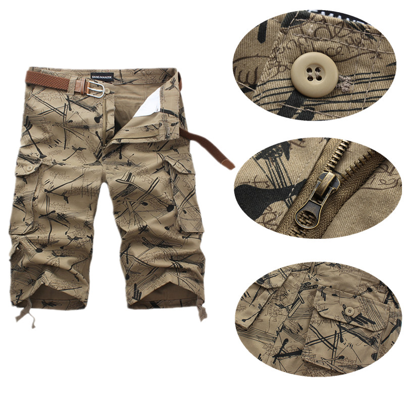 Haute Tactique Pcs De Poches Coton 1 Occasionnels kaki Shorts Light Green Green beige Multi Hommes Qualité army zwBxFwTHq