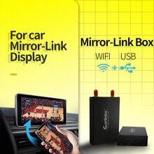 Carlinke автомобильный WiFi Дисплей iOS AirPlay Зеркальное соединение для автомобиля домашнее видео аудио Miracast DLNA Airplay экран зеркальное отображение 5,8G