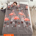Quilt with Sleeves Lazy Winter Quilt With Sleeves Very Comfortable Thickened Washed Quilt Blank Home Bedding Comforter Printed