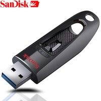 SanDisk 100 Original Z48 USB Flash Drive 64GB 16GB 32GB 128GB USB 3 0 Memory Stick