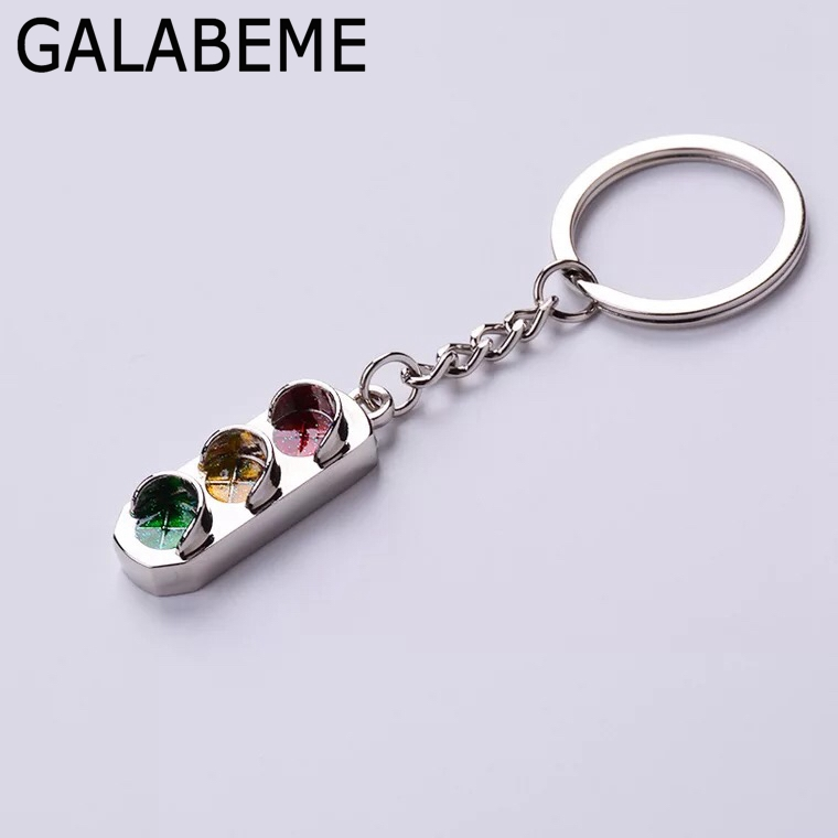 Hot Sale Galabeme 20pc Traffic Lights Keychain Key Accessories Party
