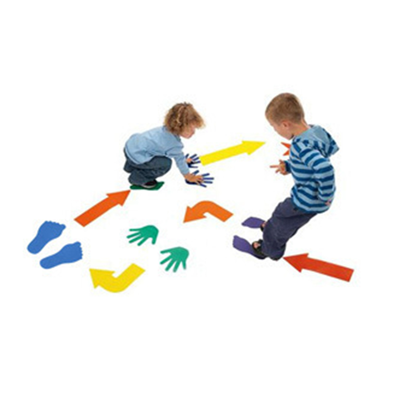 36Pcs/Sets Outdoor Sports Toys EVA Hands Feet And Arrows Game, Exercise the Flexibility Of The Hands And Feet Indoor Game Toy ...
