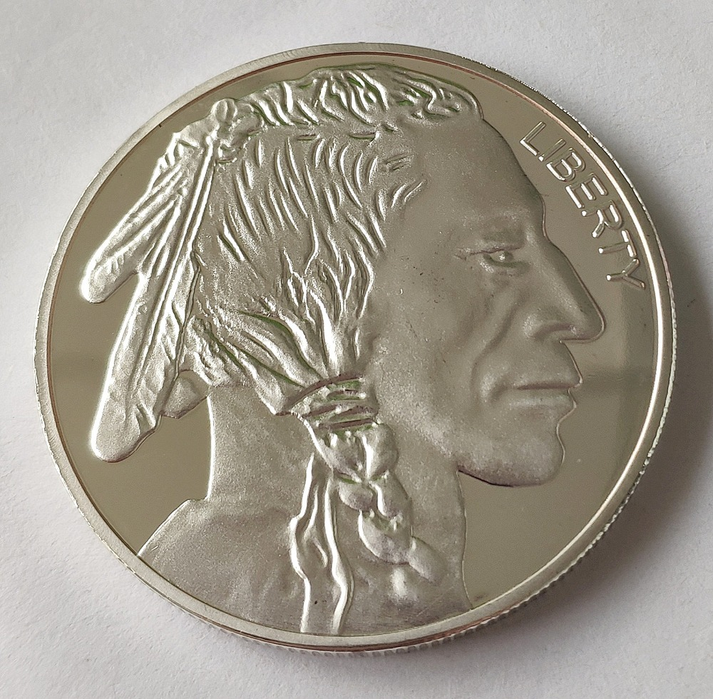 Free Shipping 2019 American Silver Eagle One Troy Ounce   .999 Fine silver