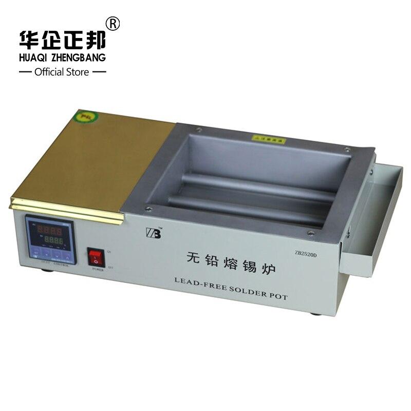 Термостат нагрева припоя/Professional мини горячей бессвинцовой пайки горшок 1500 Вт