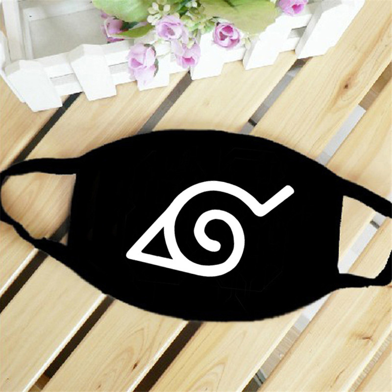 Naruto Hokage Red Cloud Japan Anime Mouth Face Mask Dustproof Breathable Women Men Cotton Riding Mask Fashion Accessories