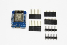 Mini módulo WeMos D1 de ESP 12 ESP8266, Mini Placa de desarrollo, WiFi, Micro USB, 3,3 V, basado en ESP 8266EX, 11 pasos