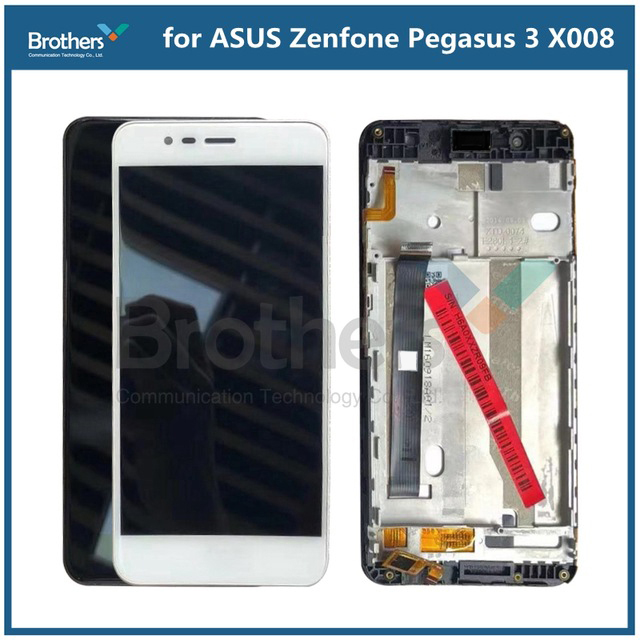 Touch <font><b>Screen</b></font> For <font><b>ASUS</b></font> <font><b>Zenfone</b></font> <font><b>Pegasus</b></font> <font><b>3</b></font> <font><b>X008</b></font> LCD Display with Frame Panel Digitizer Assembly for <font><b>ASUS</b></font> <font><b>X008</b></font> ZC520TL Replacement image