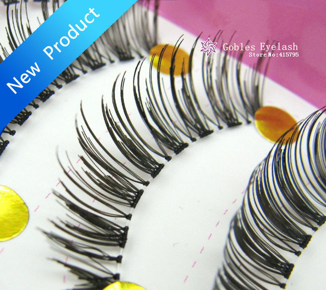 Free Shipping Free shipping New 10 Pair Thick Long False Eyelashes Eyelash Eye Lashes Voluminous Makeup T-Cross 8