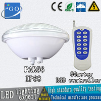 par56 swimming pool light ip68 24w 36w DC12v AC12V underwater lights fountain bulb outdoor waterproof cold/warm white led lamp