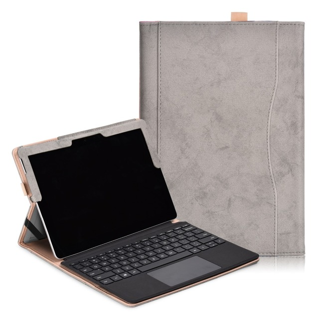 Funda de soporte de negocios para nueva Funda de Microsoft Surface Go para ordenador portátil cubierta de teclado tableta Funda protectora para Funda de superficie