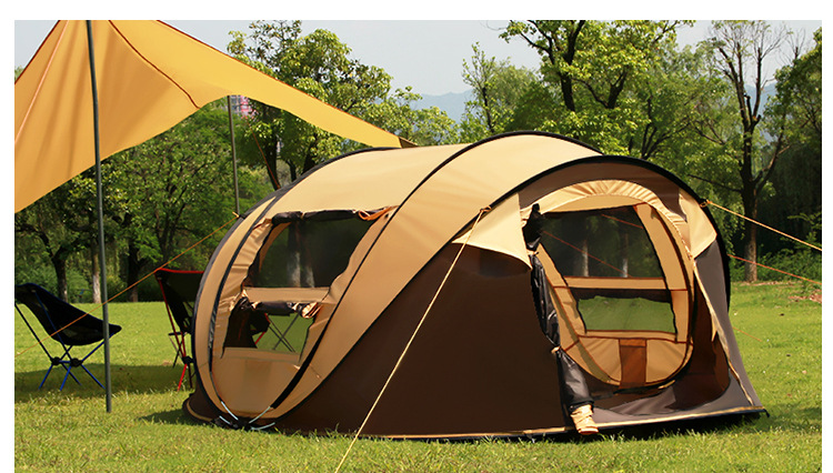 2016 free shipping new super automatic 5-6 people Korean brand building 1 second open pop up camping tent комбинезон free people free people fr045ewtgl49 page 5