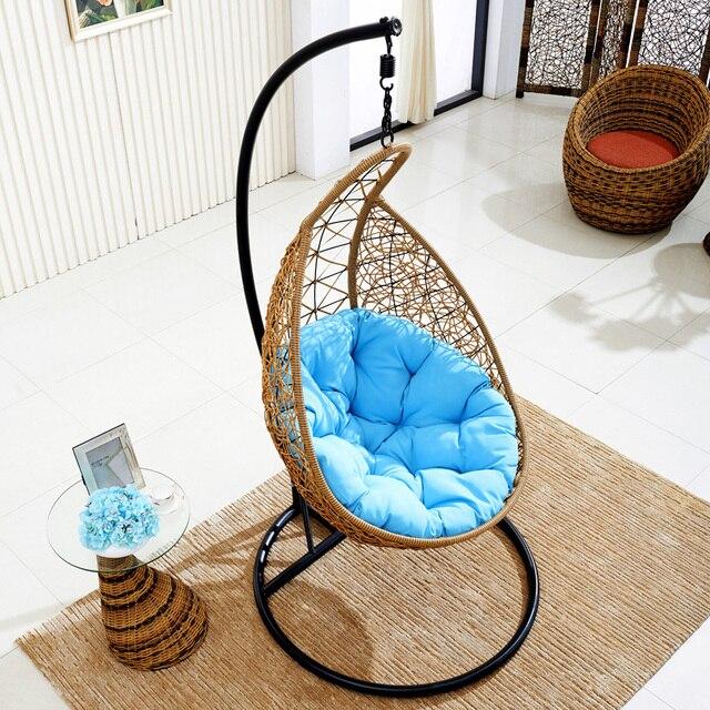Rattan chair outdoor rattan hanging basket sleep Recreation Indoor ...