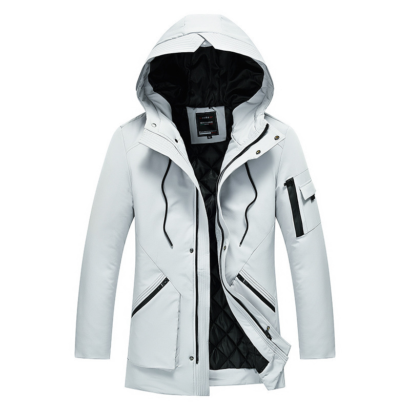 Winter Hooded Velvet Men's Parka Jacket Windbreaker Good Quality Thick Windproof Casual Coat Men 2019 Warm Male's Parkas 5XL