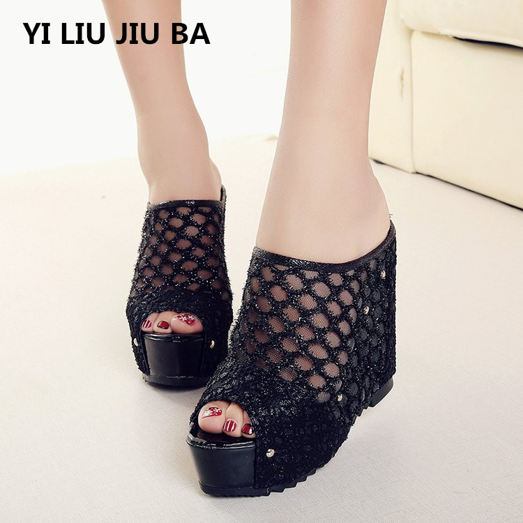New 2019 Fashion peep toe Women shoes Beach Wedge Slippers Summer Sandals Women Casual Shoes Woman Platform flip flops **790New 2019 Fashion peep toe Women shoes Beach Wedge Slippers Summer Sandals Women Casual Shoes Woman Platform flip flops **790