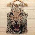 Nuevos Mens 3D Tank Top Undershirt Verano Animales Faraón Impresión Camiseta de La Camiseta de La Blusa Tops Ocio Chaleco Chaleco