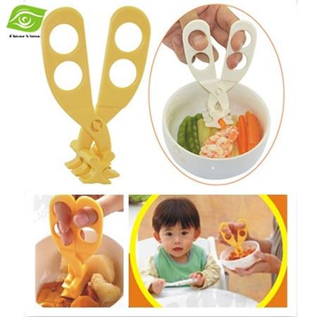 Profesjonalne plastikowe nożyczki do żywności dla niemowląt - Karmienie - Zdjęcie 5