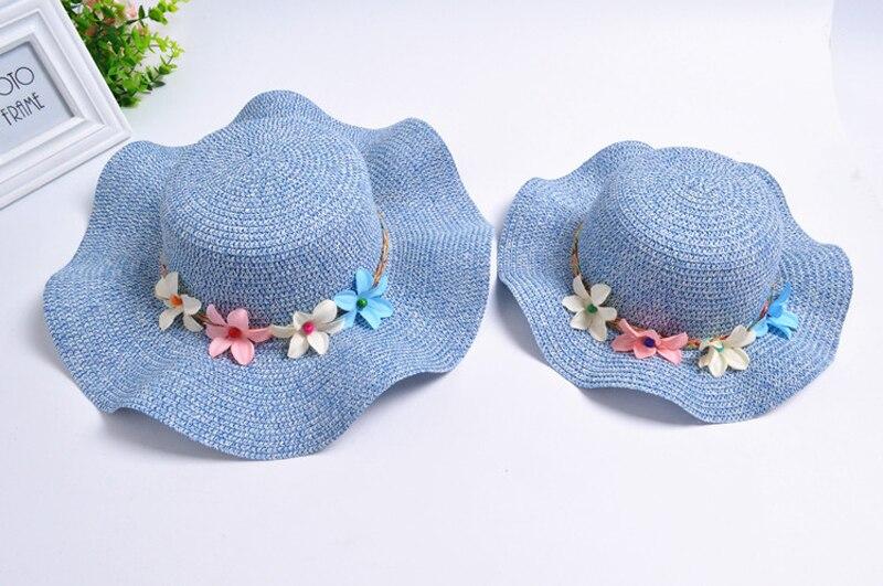Moda Meninas Chapéus De Palha do Verão