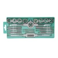 20 Pcs Tap Sterben Set Metric Hand Threading Werkzeug Hartmetall Schraube Gewinde|Gewindebohrer|Werkzeug -