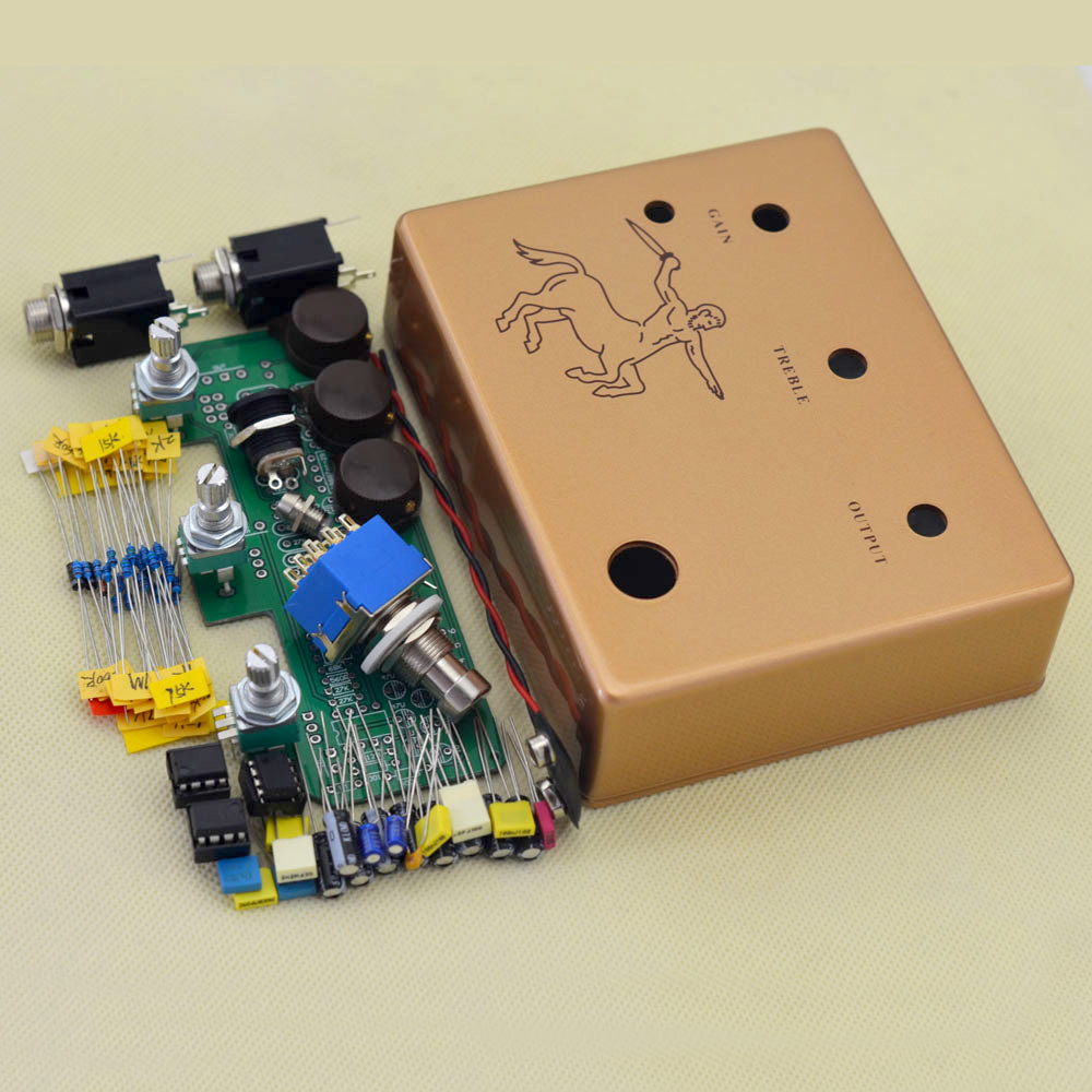 Make Your Own Klon Centaurs Professional Overdrive Guitar Effect How To A Circuit Board Pick Pedal All Kits True Bypass Free Shipping In Parts Accessories From Sports