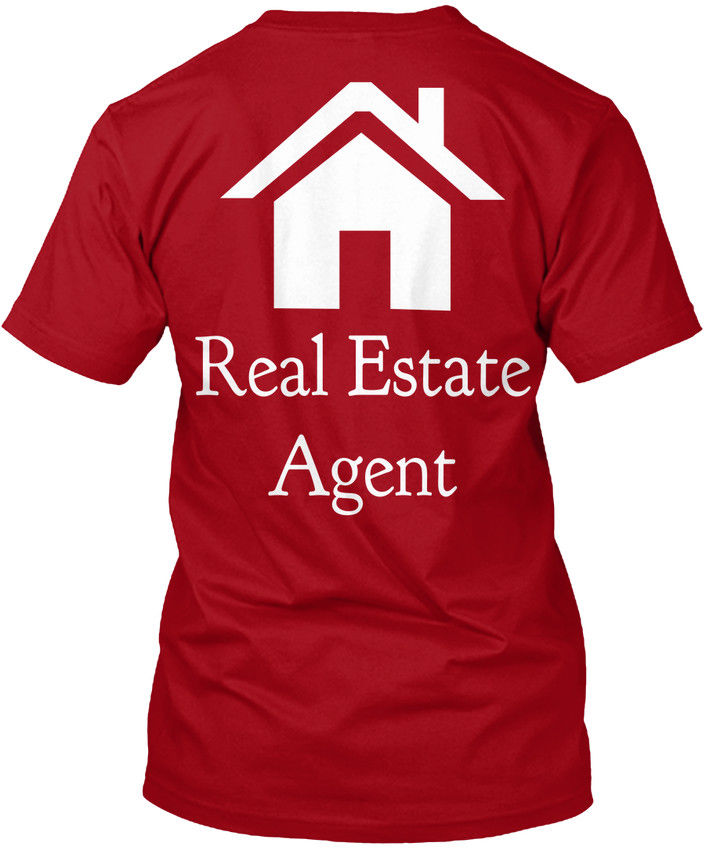 Real Estate Agent Apparel - popular Tagless Tee T-Shirt ...