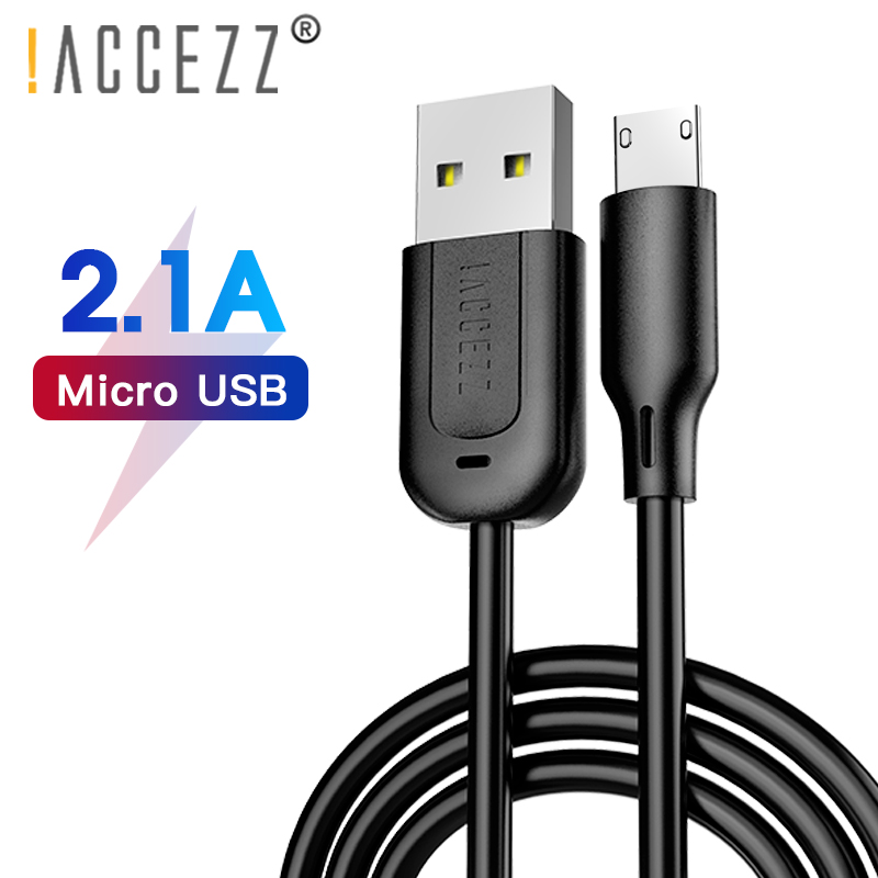 !ACCEZZ TPE Charging Data Cable Micro USB For Samsung S7 Huawei Xiaomi Redmi Note 5 Andriod Fast Charger Cables 0.3M/1M/3M