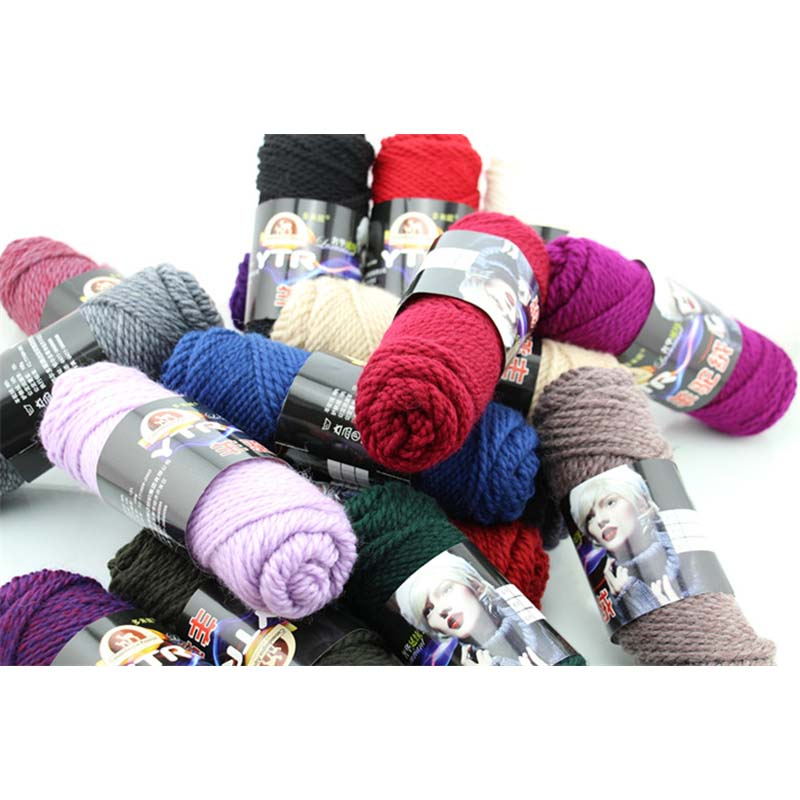Knitting Warehouse Location : Aliexpress buy g pcs alpaca wool crochet thick