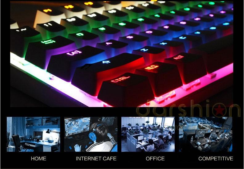 Wired Switch Keyboard Backlight 4