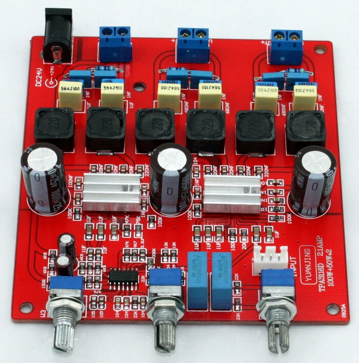 TPA3116 2 1 channel digital font b amplifier b font board 100W 50 50W font b