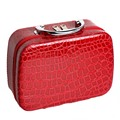 2016 Brand Pu Leather Makeup Bag Fashion Cosmetic Case Portable Travel Cosmetic Box Case