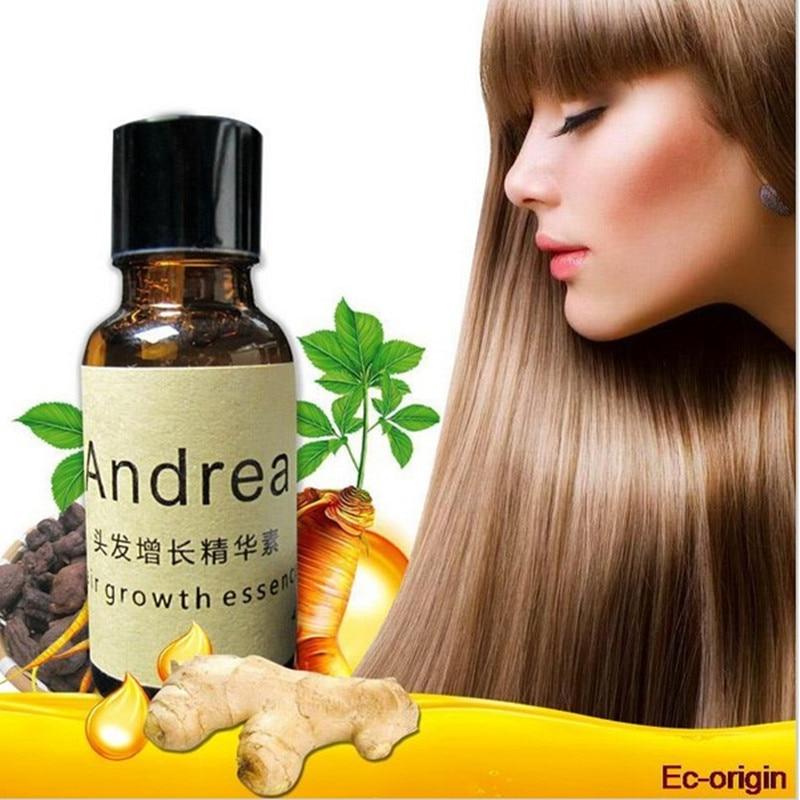 AMEIZII Andrea 20ml Ginger Extract Dense Hair Fast Sunburst Hair Growth Essence Restoration Hair Loss Liquid Serum Hair Care Oil