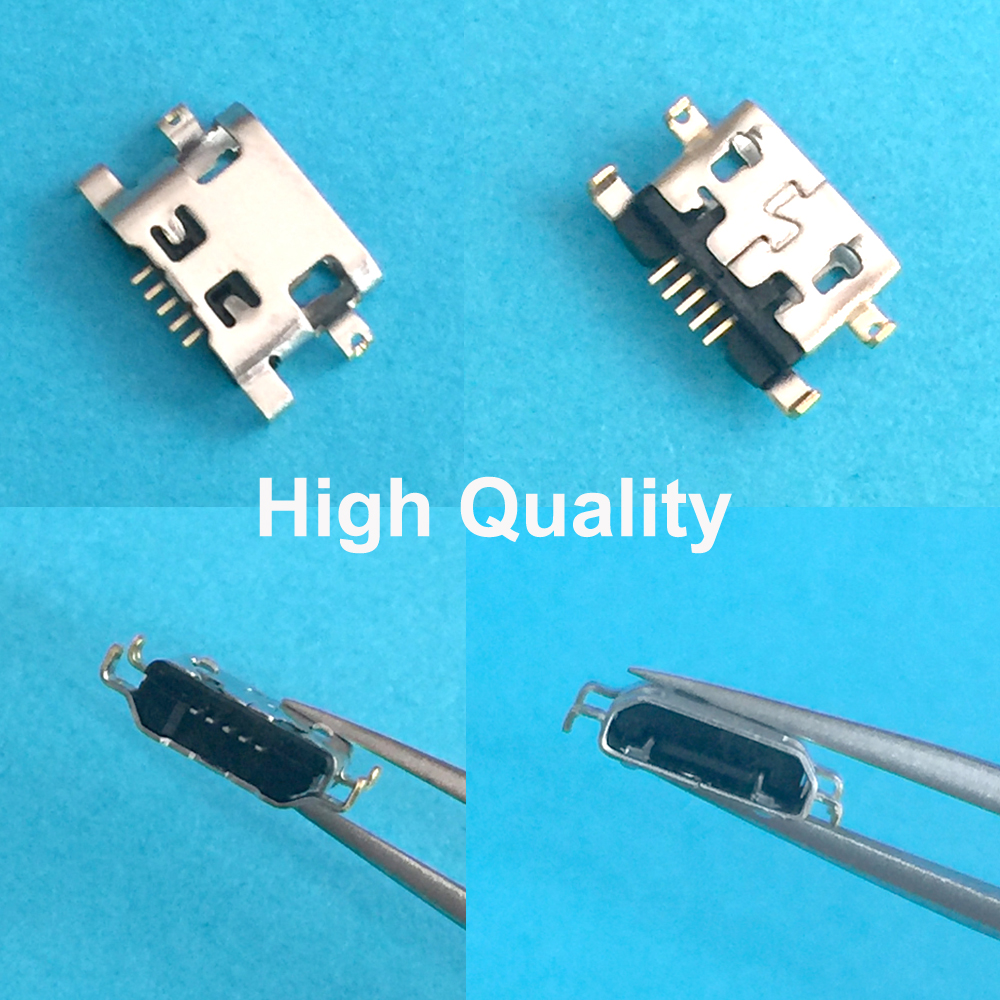 For Huawei Ascend G7 USB Charging Port Connector Plug Socket Dock 5pin Reverse Heavy Plate 1.2mm Flat Mouth