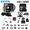 Действий камеры Оригинал ЭКЕН H9/H9R дистанционного Ультра FHD 4 К wi-fi 1080 P 60fps 2.0 ЖК 170D спорт перейти водонепроницаемый pro камеры deportiva