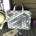 Stylish Women Dazzle Color Plaid Tote Casual Bags Female Folding Handbags Lady Laser Sequins Fashion Women Baobao Bag