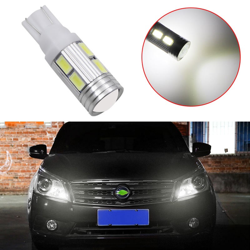 1X <font><b>T10</b></font> Canbus W5W <font><b>10</b></font> <font><b>SMD</b></font> 5630 LED Light Bulb No Error LED Light Parking <font><b>T10</b></font> LED Car Side Light Car Styling Car Auto LED image