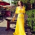 2015 Chiffon querida New vestido de noite vestido Formal Eevening vestido