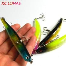 9cm 8.2g Bent Fishing Lures Artificias 3D Fish Eye Hard Plastic Minnow Swimbait Crank Cheap Lure Baits China Factory Sale MI078