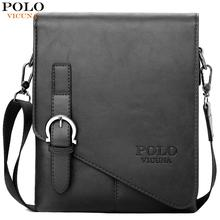 VICUNA POLO Fashion Mens Leather Shoulder Bags Factory Direct Sale Brand Cross Body Messenger Casual Business Man Bag