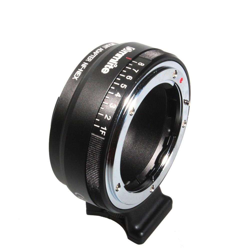 ФОТО Newest Auto Focus Mount Adapter EF-NEX for Nikon G,DX,F,AI,S,D type Lens to Sony E-Mount NEX Camera