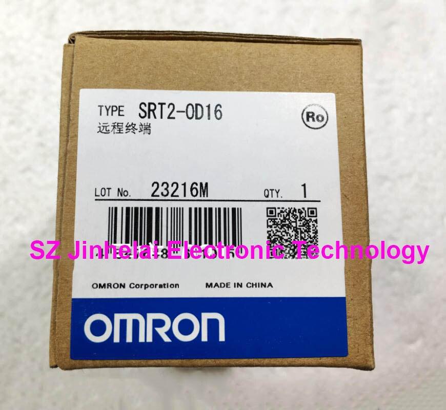 Authentic original SRT2-OD16 OMRON Remote terminal wholesale 1pcs dc dc step up converter boost 2a power supply module in 2v 24v to out 5v 28v adjustable regulator board dropship