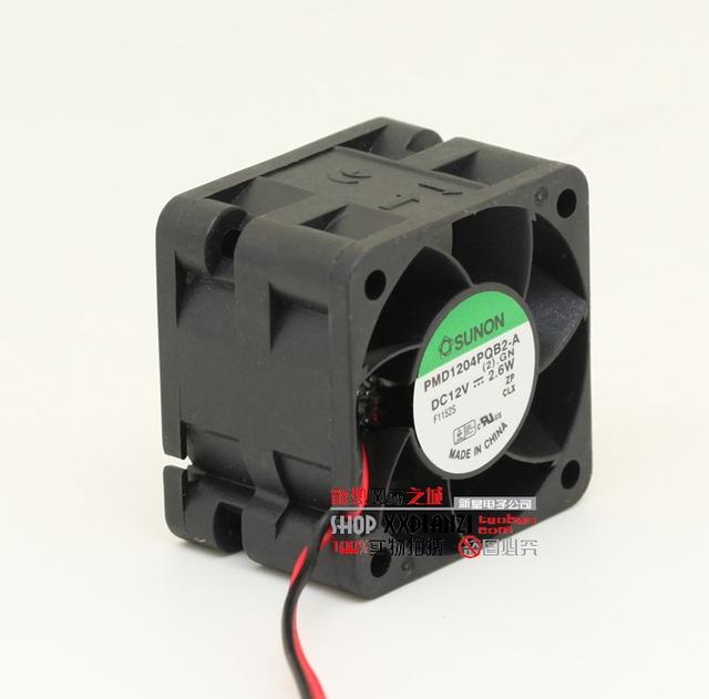 PMD1204PQB2-A 4 cm 4028 2.6 W 12 V fã servidor