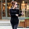2016 new autumn/spring Maternity sweaters coat and outerwear knitted sweater pregnant autumn clothing maternity tops 16847
