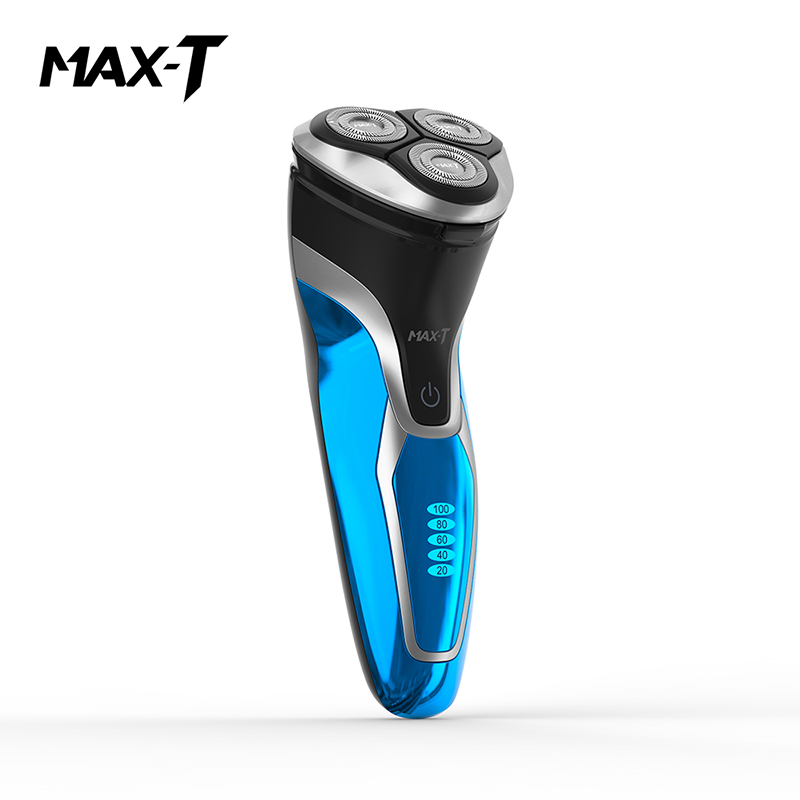 MAX-T RMS7109 Electric Shaver Washable Rechargeable 110-240V 3D Triple Blade Face Care Electric Shaving Beard Machine for Men rechargeable 110 240v electric reciprocating single blade electric shaver for men shaving machine high quality