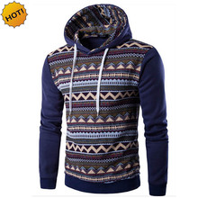 HOT 2016 indoor Fashion Autumn winter Casual Streetwear Hip Hop pullover Patchwork Fleece Hoody Sweatshirt Men hoodies Mens