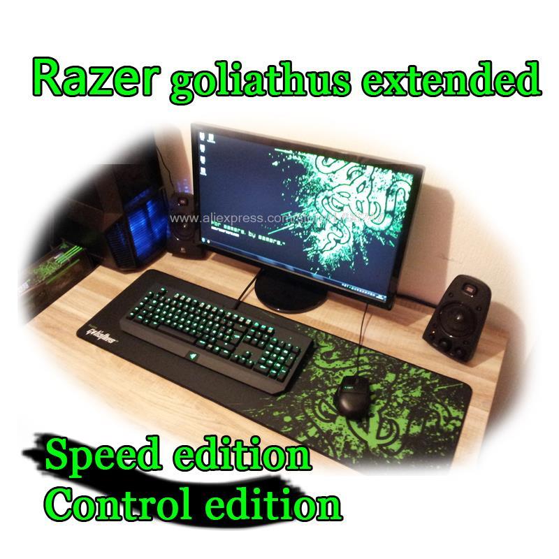 razer goliathus extended razer tapis de souris 920 293 3 mm 4 edition vitesse et de controle souple gaming tapis de souris livraison gratuite