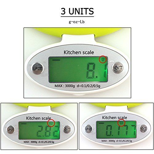 Practical 5KG/1g LCD Display Electronic Kitchen Scale Digital Scale Electronic Kitchen Food Diet Postal Scale Weight Tool 2