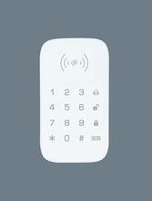 Yobang bezpieczeństwa bezprzewodowa klawiatura RFID zbliżeniowy bezpieczeństwa kontroli dostępu do drzwi systemy alarmowe + 2 znaczniki RFID dla WIFI GSM alarm tanie tanio yobang security FDL-K07 Three AAA batteries 433Mhz SMS alert when lower power 50pcs