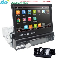 7 Universal 1din Android 6 0 Quad Core Car DVD Player GPS Navigation Wifi BT AutoRadio