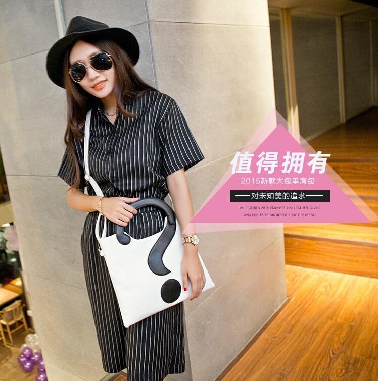 high quality pu Question mark leather designer messenger bags Crossbody bag woman bag fashion handbag